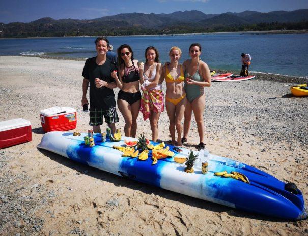 Ocean Kayak and Snorkeling to Chora Island
