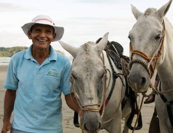 Our Horseback riding tour guide