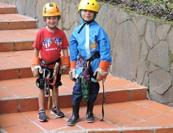 kids at monteverde