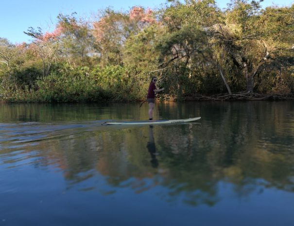 Stand Up Paddle Board to Chora Island